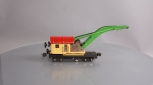 Lionel 2810 Crane Car (Yellow/Red)