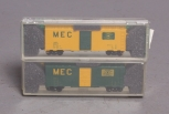 Deluxe Innovations 14060 N Scale Maine Central 40' AAR Boxcxar (Pack of 2) LN