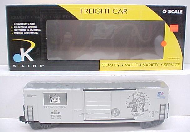K-Line K765-7431 New York Quarter Boxcar NIB