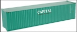 Atlas 4013-10 O Gauge 40' Capital Lease Container #819084 LN/Box