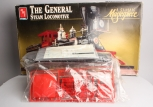 AMT 8124 1:25 Scale The General Steam Locomotive Kit NIB