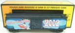 MTH 30-7490 New Years Boxcar 2002 EX/Box