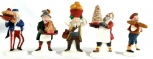 Dept 56 56369 Heritage Village Collection Early Rising Elves NIB