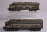 Lionel 2354 New York Central F-3 AA Diesel Locomotives