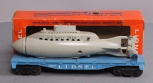 Lionel 3830 Flatcar with Operating U.S. Navy Submarine/Box
