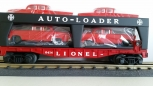 Lionel 6-19427 PWC Evans Auto Loader # 6414 with 4 Red Cars NIB