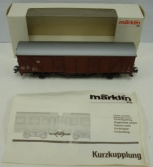 Marklin 4732 DB HO Scale Box Car NIB