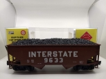 Aristo-Craft 41881CB-5 G Gulf Mobile & Ohio 2-Bay Hopper Car #9633 LN/Box