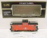 K-Line K613-1391 Rock Island Extended Vision Caboose EX/Box