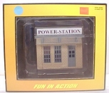 MTH 30-90003 Cream & Dark Gray Power Station NIB