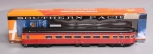 Broadway Limited 1590 HO Scale Southern Pacific Coast Daylight Parlor-Observatio
