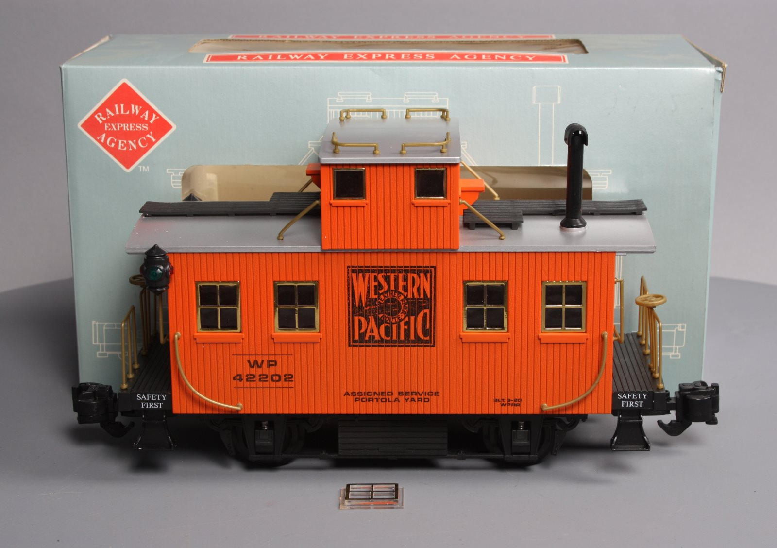Buy Aristo-Craft 42202 Western Pacific Bobber Caboose EX/Box