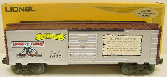 Lionel 6-9430 The Standard Gauge Years Boxcar LN/Box 023922694300 Lionel 6-9430