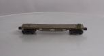 Lionel 3820 USMC Olive Drab Flatcar Only - RARE