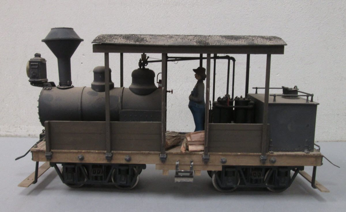 Buy Custom Built G Scale/1 Gauge Class A Climax Steam