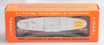 Lionel 6464-375 O Postwar Central of GA Boxcar EX/Box