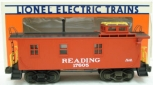 Lionel 6-17605 Reading Woodside Lighted Caboose LN/Box