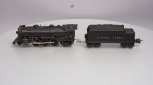 Lionel 1666 2-6-2 Die-Cast Steam Locomotive w/2666w Tender
