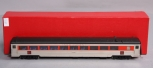 S. Soho & Co. 1502 HO Scale Nickel Plated Brass New Haven #8600 Coach (Skirted)