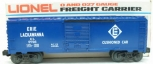 Lionel 6-9726 Erie Lackawanna Box Car LN/Box