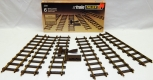 Vintage Faller E-Train 3811 Straight (6) brass track BOXED West Germany 2RAIL O