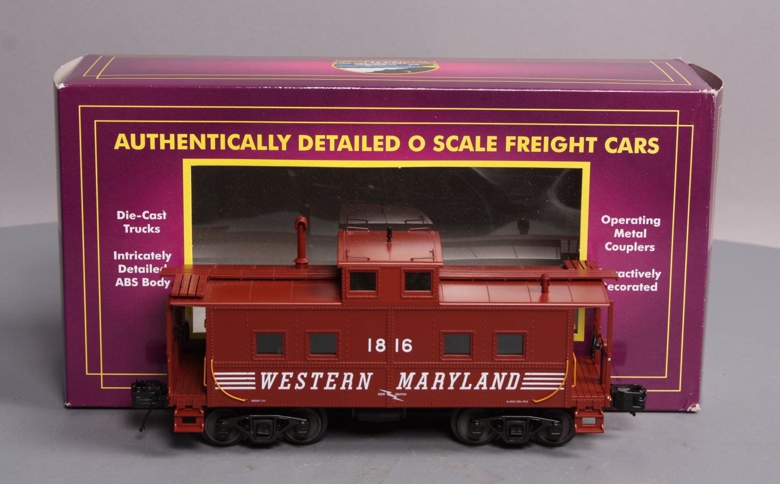 Buy MTH 20-91368 Western Maryland Center Cupola Steel Caboose/Box