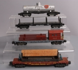 American Flyer S Scale Assorted Postwar Freight Cars; 925, 971, 928, 945 [4]