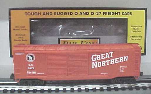 MTH 30-7455 Great Northern Boxcar #3923 (Red) LN/Box 658081026152 MTH 30-7455