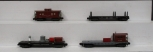 American Flyer S Scale Assorted Freight Cars; 945, 928, 977, 969 [4]