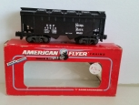 American Flyer 6-48610 S Scale Nickel Plate Road Covered Hopper NEW