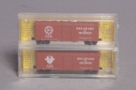 Deluxe Innovations 141001 N Scale Delaware & Hudson 40' AAR Boxcar (Pack of 2)