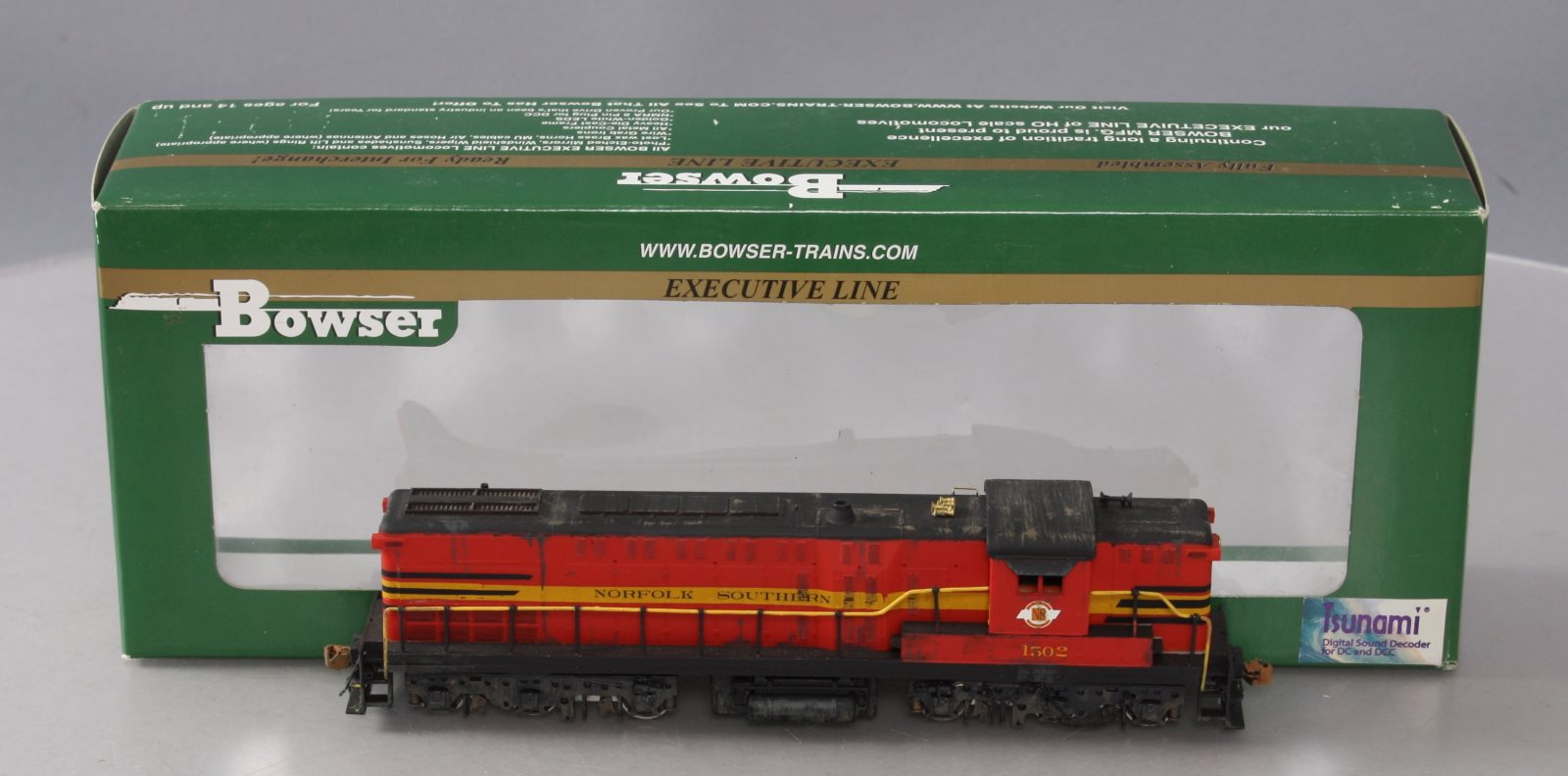 Bowser 23485 HO Norfolk Southern AS-616 Non-Powered Diesel - Custom Weathered 820024234850 Bowser