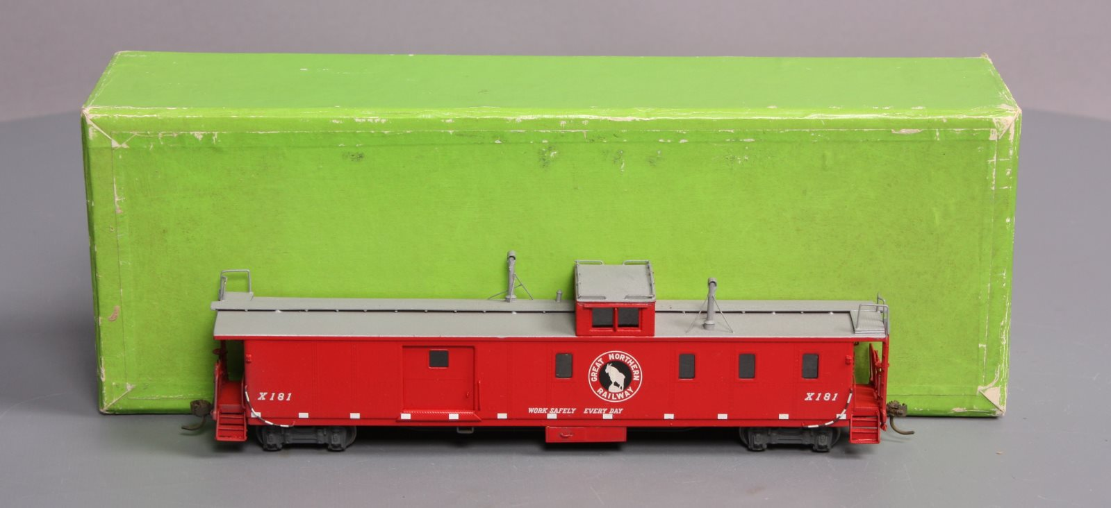 Buy Overland HO BRASS Great Northern X-181 Caboose LN/Box