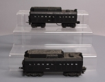Lionel 234W Lionel Lines Whistle Tender & 6026W Lionel Lines Whistle Tender