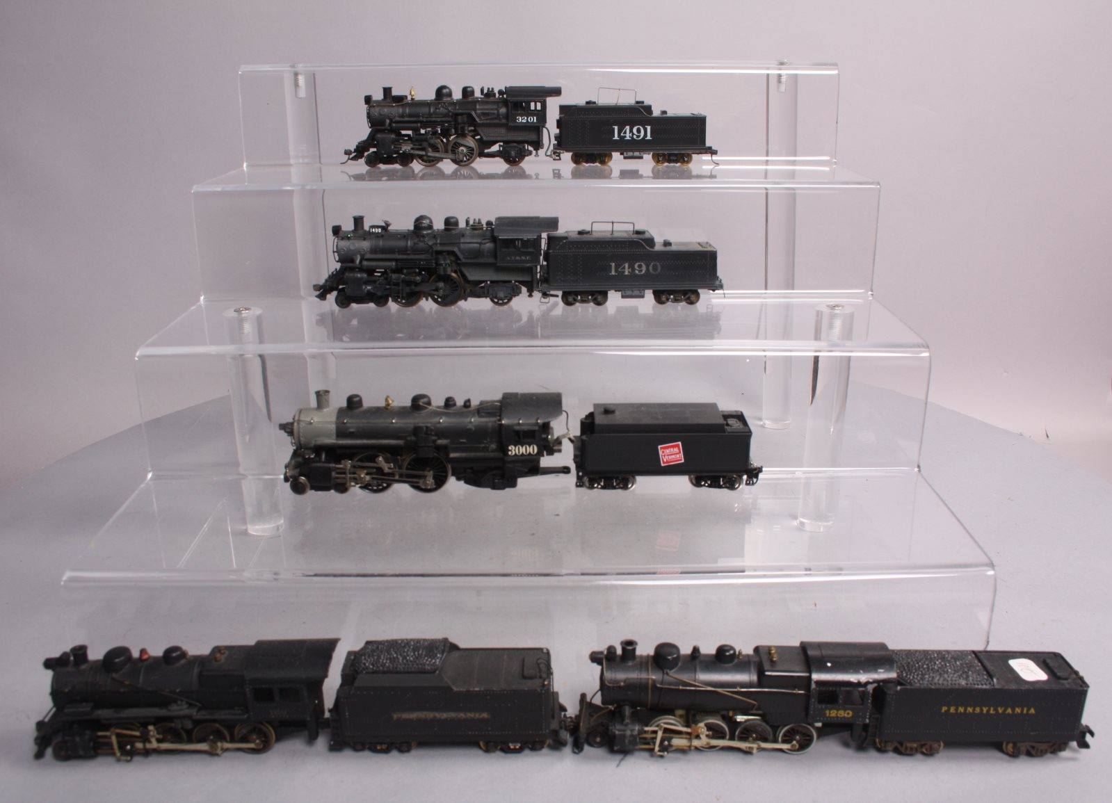 Buy HO Scale PRR, CV, Steam Locomotives and Tenders [5] | Trainz