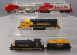 HO Scale Santa Fe Powered & Non-Powered Diesel Locomotives [5]