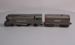 Lionel 1688 2-4-2 Gunmetal Gray Steam Locomotive & Tender