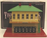 MTH 10-1124 Tinplate Switch Tower w/Knife Switches LN/Box