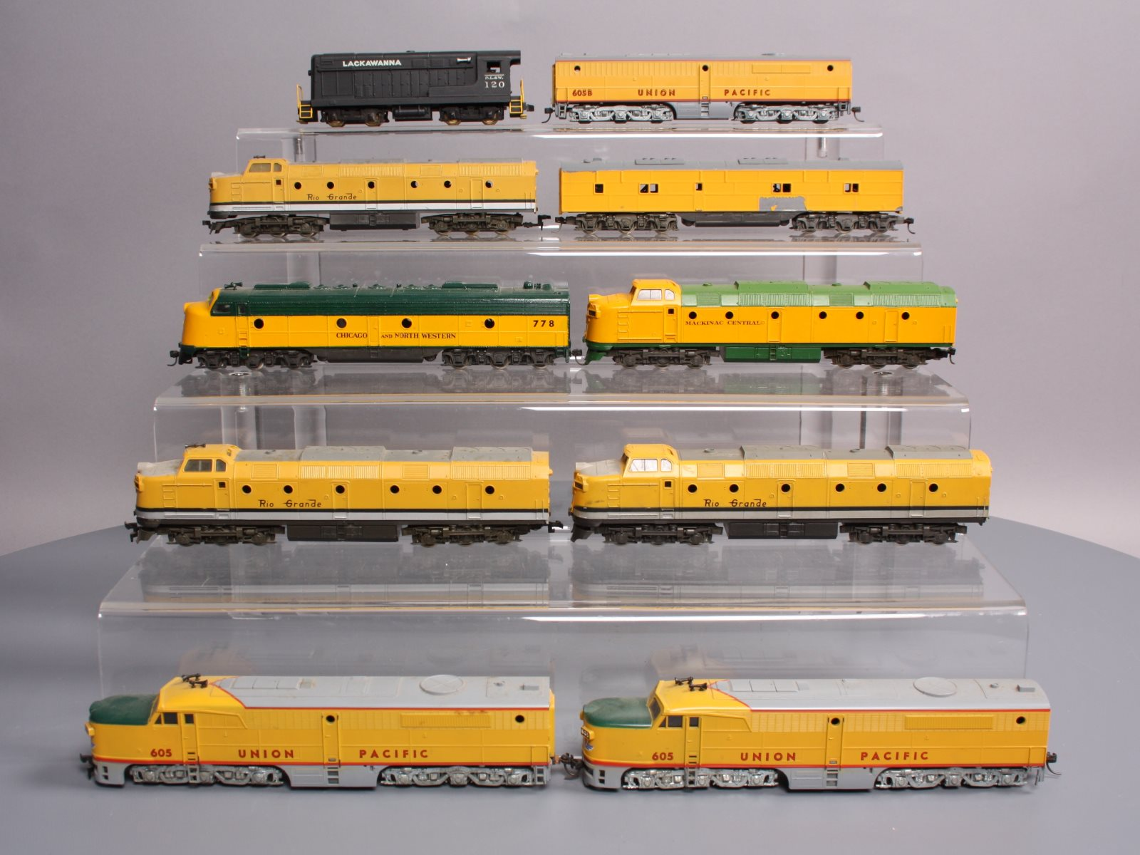 Buy HO Scale UP, Rio Grande, Etc Diesel Locomotives (10