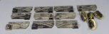 American Flyer S Scale Postwar Left Hand & Right Hand Switch Turnouts [10]