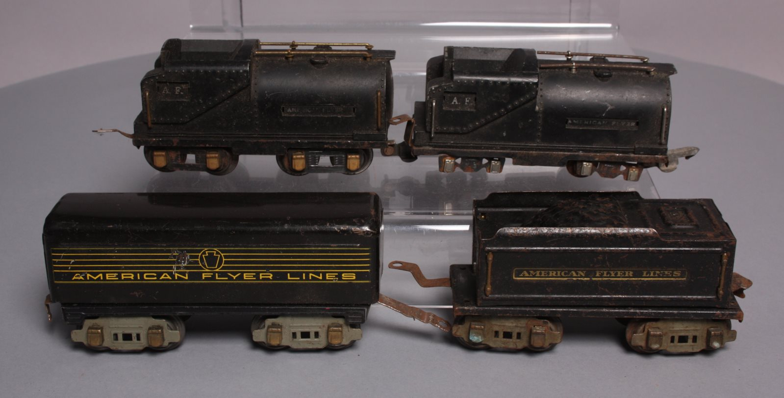Buy American Flyer O Gauge Prewar Metal Tenders [4] | Trainz