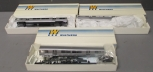 Walthers HO Scale Rapid Transit Powered Cab, Dummy Mid-Train: 932-6030, 932-6032