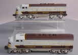 Lionel 2373 Canadian Pacific F3 AA Diesel Locomotive Set
