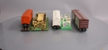 Lionel O Gauge Postwar Operating Freight Cars & Platforms: 3656, 3662, 3472 [3]