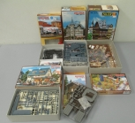 Faller, Vollmer HO Scale Building Kits: 3666, B-912, 3678, 3665, 5632, 3794 [6]