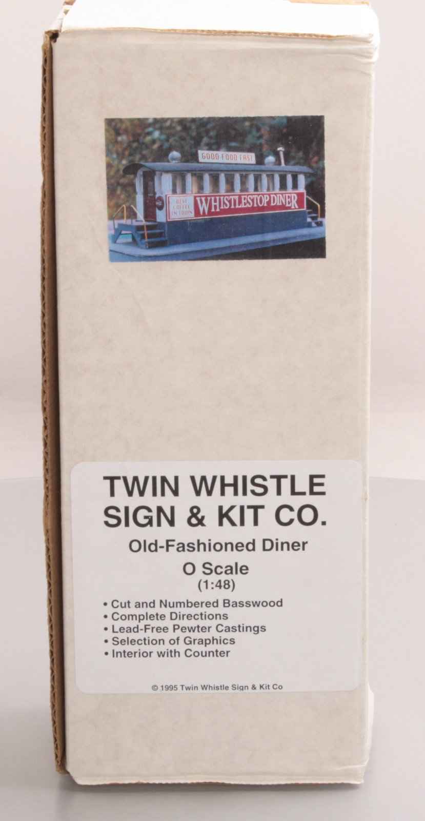 Buy Twin Whistle Sign Amp Kit Co O Scale Old Fashioned