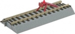 American Flyer 6-49866 S Scale FasTrack Straight Track With Lighted Bumper (2)