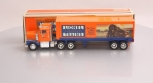 Lionel TMT-18018 Box Trailer Truck with Operating Lights, Sounds, Coinbank LN