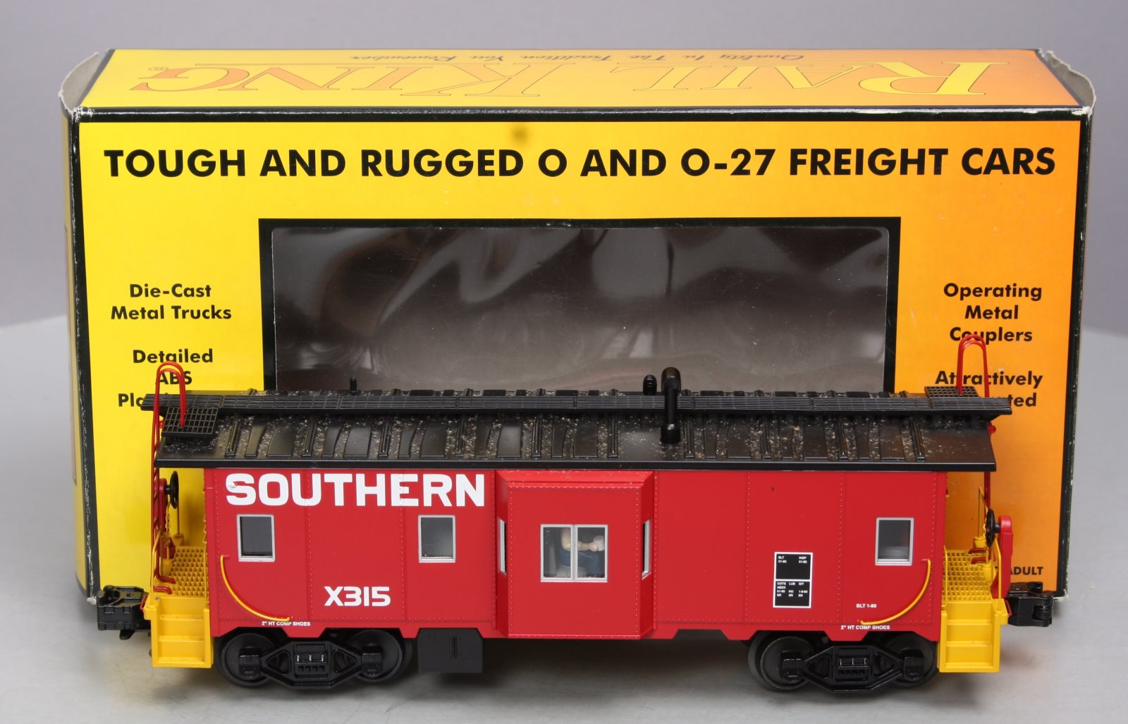 Buy MTH 30-77113 Southern Bay Window Caboose/Box | Trainz