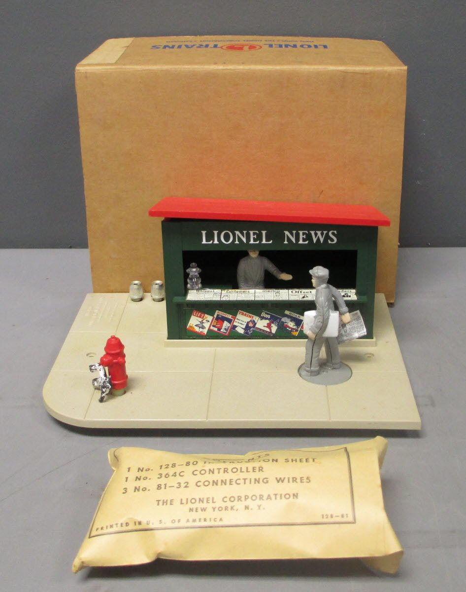 Buy Lionel 128 Animated Newsstand MT/Box | Trainz Auctions